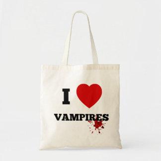 Jag älskar vampyrer budget tygkasse