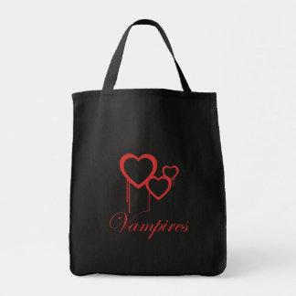 Jag älskar vampyrer - hänga lös tygkasse