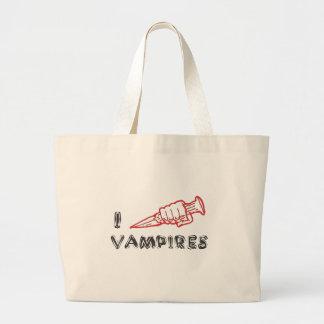 Jag älskar vampyrer tygkassar