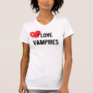 Jag älskar vampyrer t-shirt
