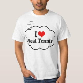 Jag älskar verklig tennis tröja