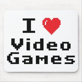 Jag älskar videospel musmatta