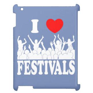 Jag älskar (vita) festivaler, iPad skal