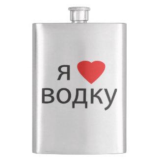 Jag älskar Vodka Fickplunta