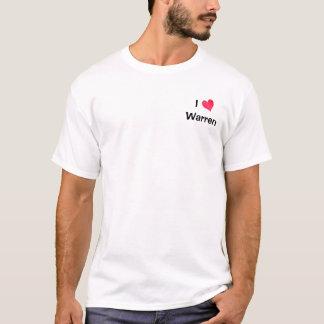 Jag älskar Warren T Shirts