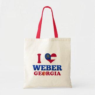 Jag älskar Weber, Georgia Tote Bag