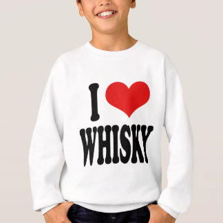 Jag älskar Whisky T-shirts
