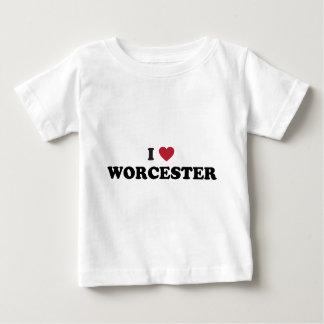 Jag älskar Worcester Massachusetts Tee
