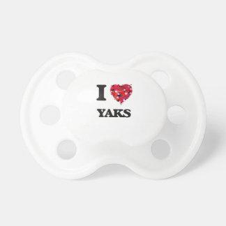 Jag älskar Yaks Napp