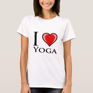 Jag älskar Yoga Tshirts