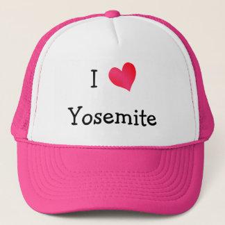 Jag älskar Yosemite Truckerkeps