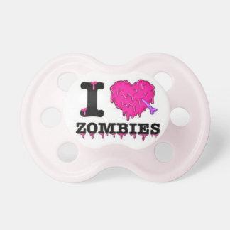 Jag älskar Zombies - humoristisk flicka Napp