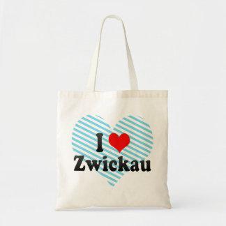Jag älskar Zwickau, Tyskland Budget Tygkasse