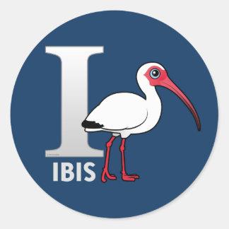 Jag är för Ibis Runt Klistermärke