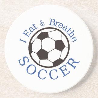 Jag äter & andas fotboll underlägg