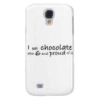 Jag äter choklad efter 6 och stolt av den galaxy s4 fodral
