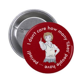 """Jag att bry sig inte, hur många """"något liknande standard knapp rund 5.7 cm"""