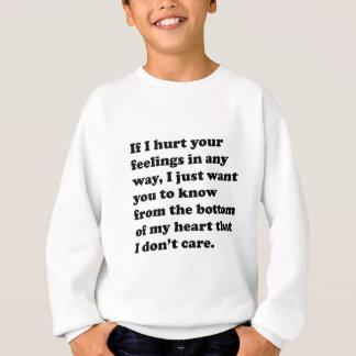 Jag att bry sig inte t-shirts