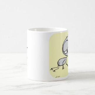 jag behöver dig - kaffekoppen vit mugg