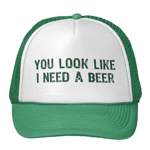 Jag behöver en öl mesh kepsar