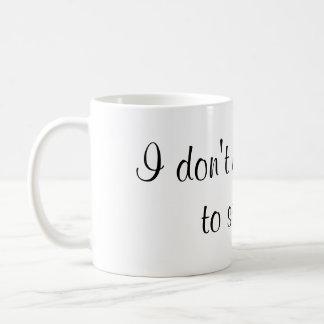 Jag behöver inte glitter till gnistrakaffemuggen kaffemugg