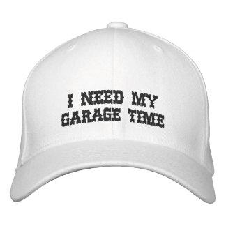 JAG BEHÖVER MIN broderade hatt för GARAGE TIME Broderad Keps