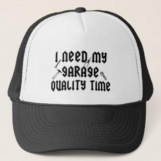 Jag behöver min kvalitets- tid för garage keps