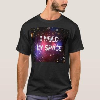 Jag behöver min utrymmemanar svart T-tröja Tröja