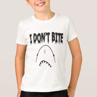 Jag biter inte tee shirts