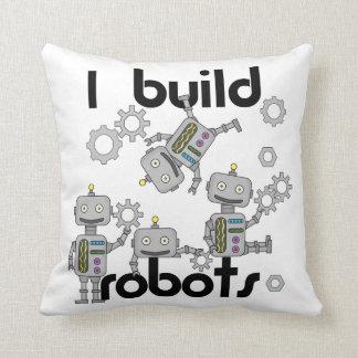 Jag bygger robotar kudde