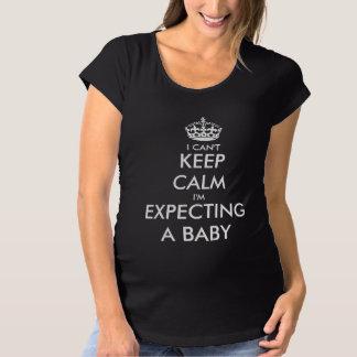 Jag cant skjortan för moderskap för bebiset för tee shirt