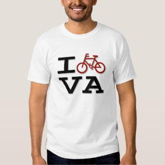 Jag cyklar den Virginia T-tröja T Shirts