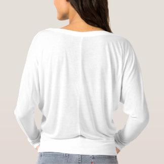 Jag delar inte världen…, Kvinna Flowy T medel Tee Shirt
