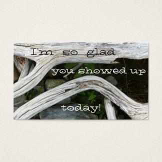 Jag den så glada förmiddagen, dig visade upp! visitkort