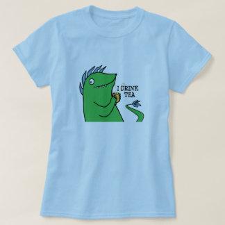 Jag dricker Tea -- skjortor Tröja