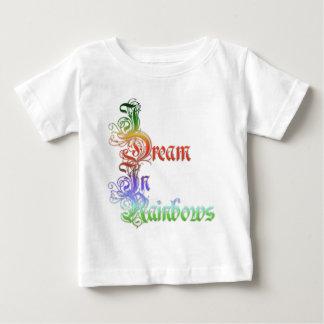 Jag drömm i regnbågar tee shirt