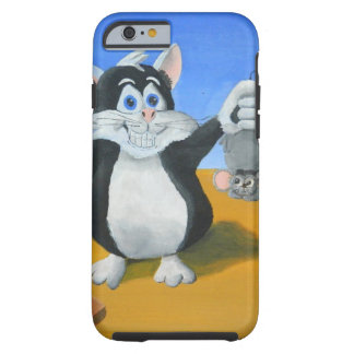 Jag fångade en mus tough iPhone 6 case