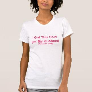 Jag fick denna skjorta t-shirt