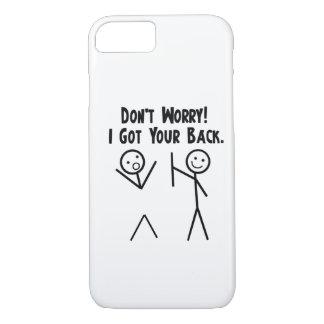 Jag fick ditt tillbaka fodral för iPhone 7