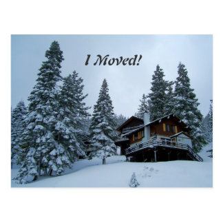 Jag flyttat! vykort