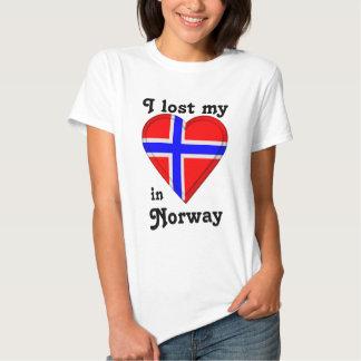 Jag förlorade min hjärta i norge t-shirt