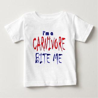 Jag förmiddagen en Carnivore biter mig ungar Tee Shirt