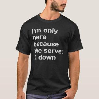 Jag förmiddagen endast, därför att serveren är, tee