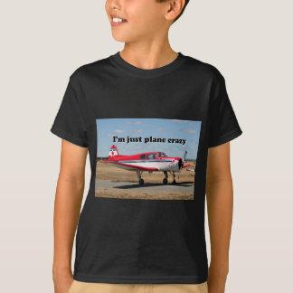 Jag förmiddagen hyvlar precis galet: Yakflygplan T-shirt