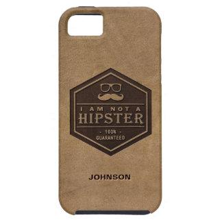 Jag förmiddagen inte en Hipster 100% garanterade iPhone 5 Case-Mate Fodral