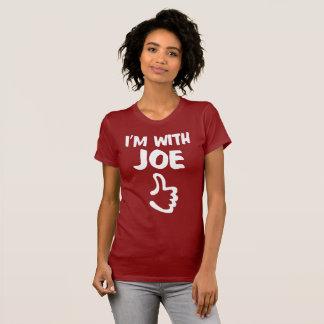 Jag förmiddagen med Joe kvinnor bötfäller den röda Tee