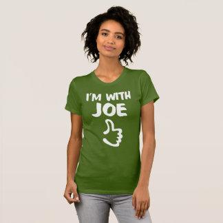 Jag förmiddagen med Joe kvinnor bötfäller den T-shirt