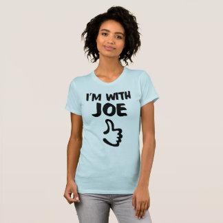 Jag förmiddagen med Joe kvinnor bötfäller den T Shirt