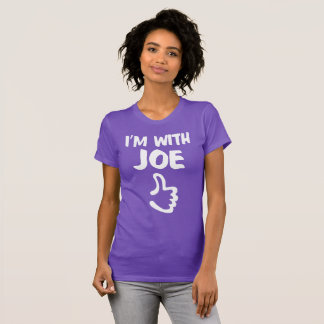 Jag förmiddagen med Joe kvinnor bötfäller den Tee Shirt