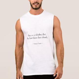 Jag förmiddagen på en Whiskey bantar Sleeveless T-shirts